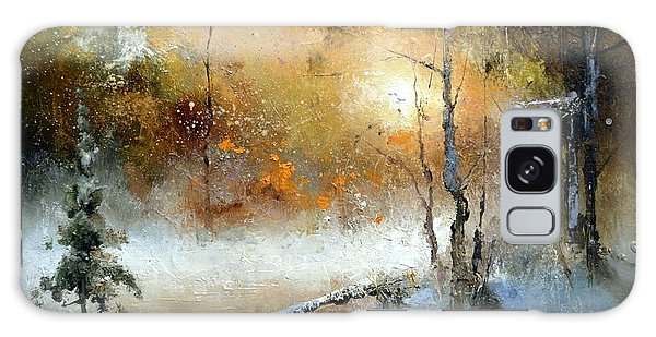 Winter Sunset Galaxy Case by Igor Medvedev