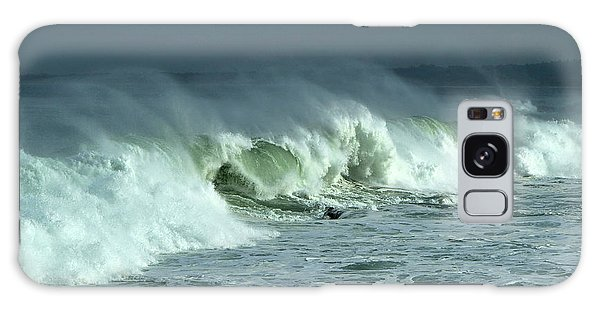 Winter Surf On Monterey Bay Galaxy Case