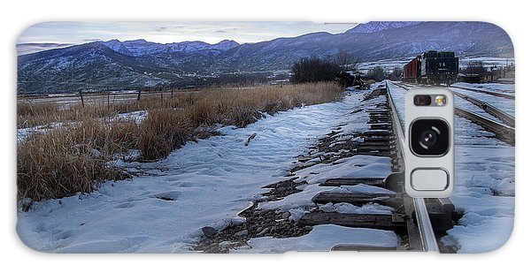 Winter Tracks Galaxy Case