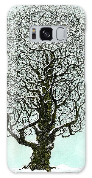 Winter Tree 2009 Galaxy Case by Charles Cater