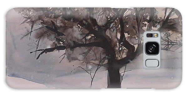 Winter Tree Galaxy Case by Laurie Rohner