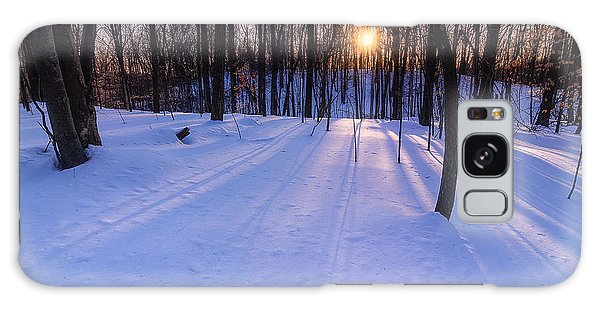 Winter Walks Continue Galaxy Case