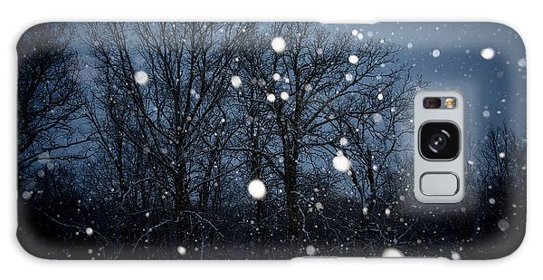 Winter Wonder Galaxy Case by Annette Berglund