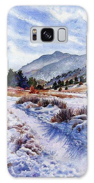 Outdoor Galaxy Case - Winter Wonderland by Anne Gifford