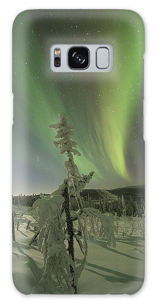 Winter Wonderland Aurora Galaxy Case