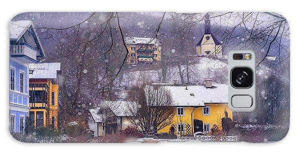 Winter Wonderland In Mondsee Austria  Galaxy Case by Carol Japp