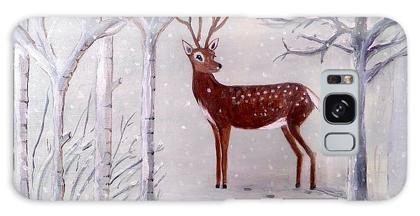 Winter Wonderland - Painting Galaxy Case