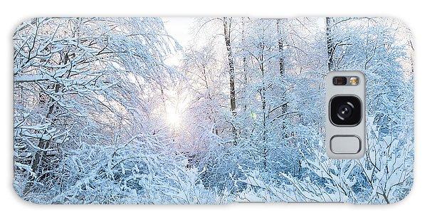 Winter Wonderland Galaxy Case