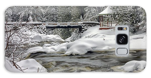 Winter's Blanket Galaxy Case by Mary Amerman