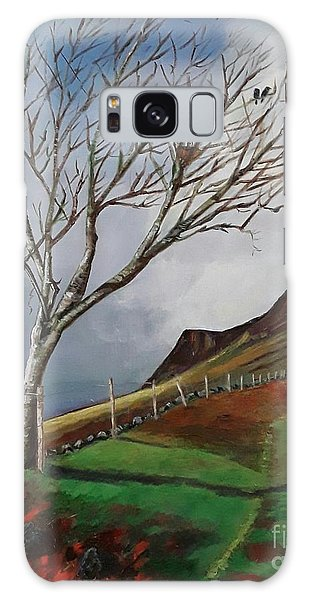 Winter's Day At Yewbarrow -painting Galaxy Case