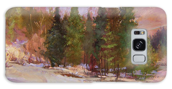 Winter's Eve Plein Air Galaxy Case