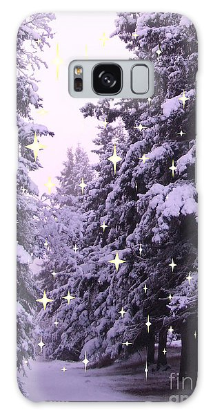 winter's Path Galaxy Case