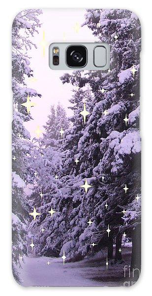 winter's Path Galaxy Case
