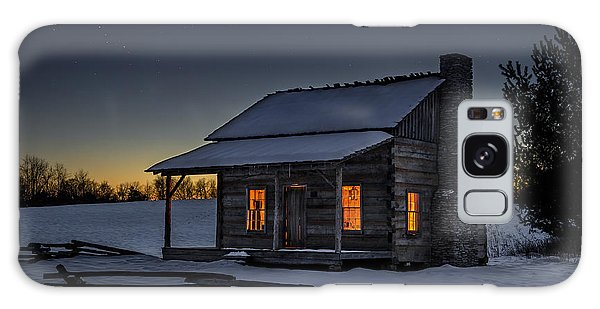 Rustic Galaxy Case - Winters Refuge by Anthony Heflin