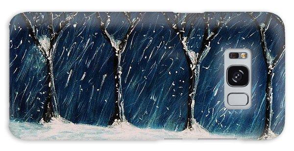 Winter's Snow Galaxy Case by John Scates