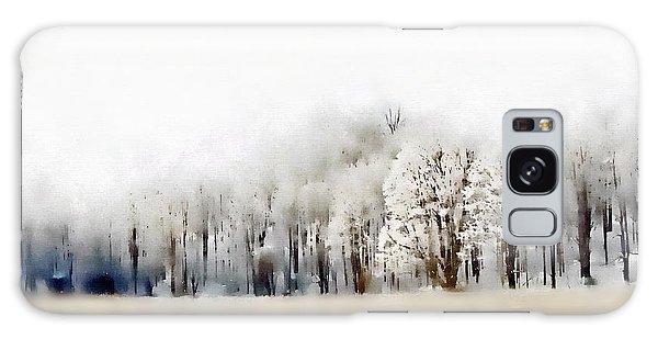 Winterscape  Galaxy Case by Andrea Kollo