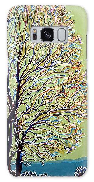 Wintertainment Tree Galaxy Case