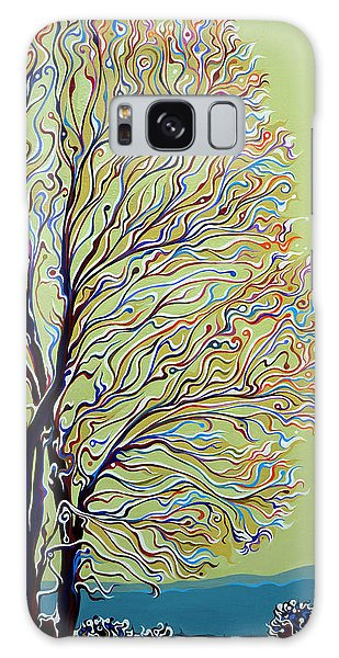Wintertainment Tree Galaxy Case