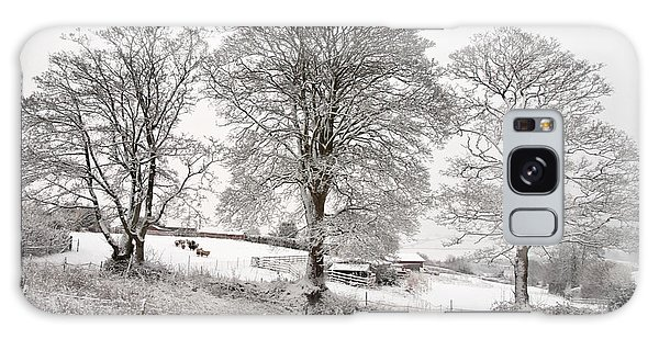 Wintery Scene Galaxy Case