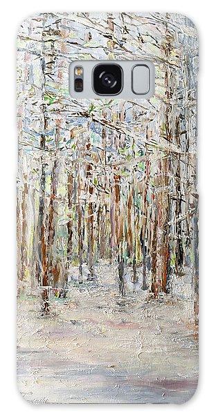 Wintry Woods Galaxy Case