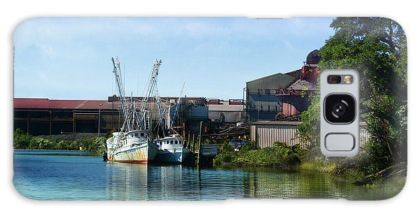 Winyah Bay Georgetown Sc Galaxy Case by Kathy Baccari