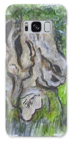 Wisdom Olive Tree Galaxy Case