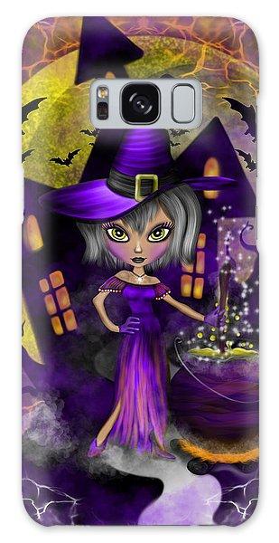 Wisdom Witch Fantasy Art Galaxy Case