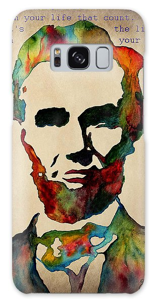Wise Abraham Lincoln Quote Galaxy Case