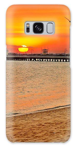 Beach Sunset Galaxy Case - Wish You Were Here by Az Jackson