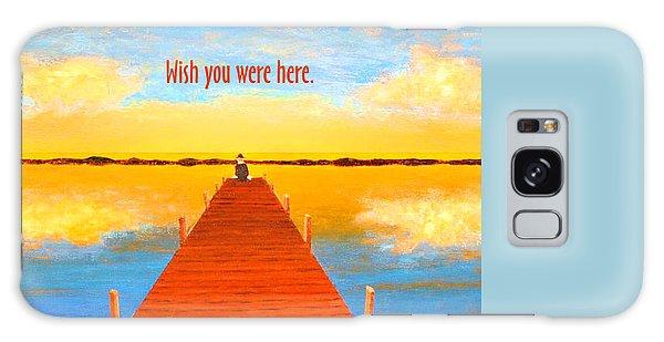 Wish - Pier - Greeting Card Galaxy Case