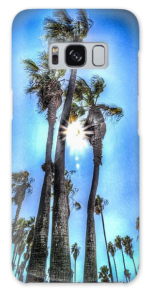 Wispy Palms Galaxy Case