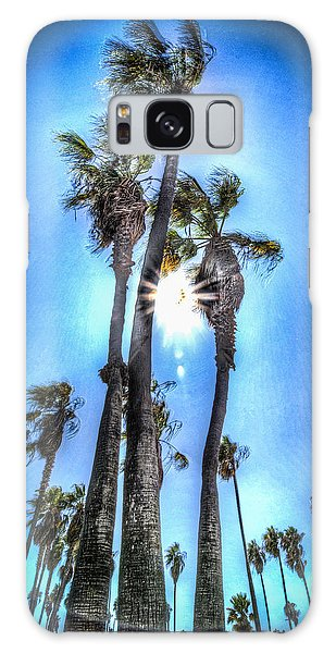 Wispy Palms Galaxy Case