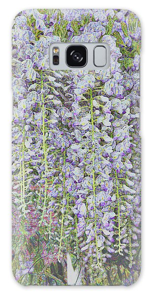 Galaxy Case featuring the photograph Wisteria Before The Hail by Nareeta Martin