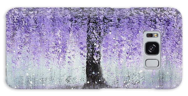 Wisteria Dream Galaxy Case