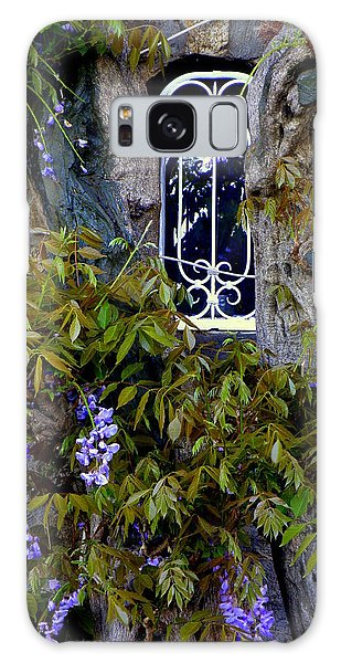 Wisteria Window Galaxy Case