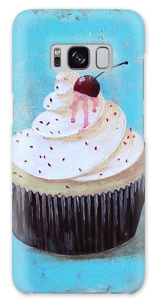 With A Cherry On Top Galaxy Case