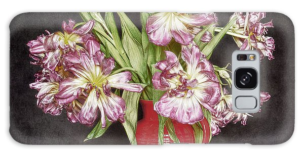 Withered Tulips Galaxy Case by Stefan Nielsen
