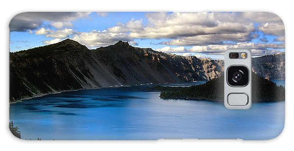 Wizard Island Stormy Sky- Crater Lake Galaxy Case