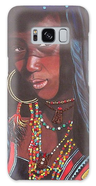 Virtuous Wodaabe Girl          From The Attitude Girls  Galaxy Case