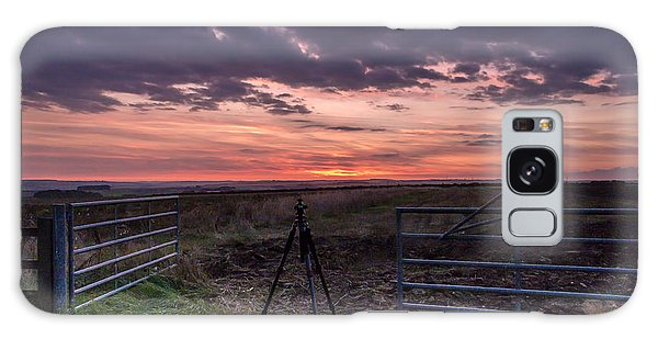 Wolds Sunset 2 Galaxy Case