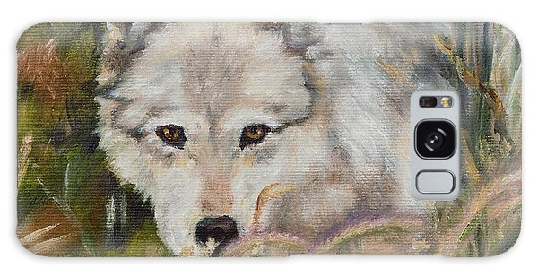 Wolf Among Foxtails Galaxy Case