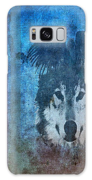 Wolf And Raven Galaxy Case
