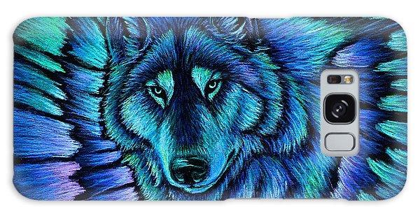 Wolf Aurora Galaxy Case