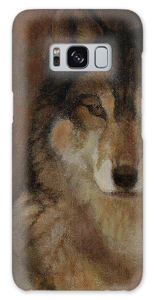 Wolf Head Galaxy Case