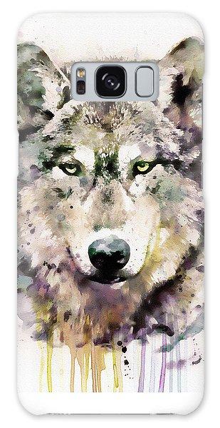 Wolf Head Galaxy Case by Marian Voicu