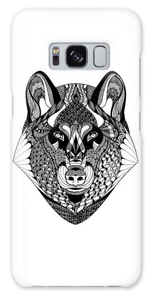 Wolf Galaxy Case by Jan Steinle