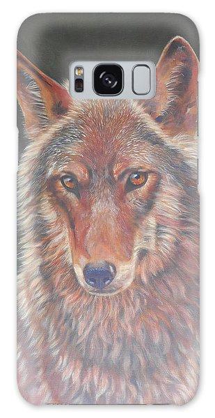 Wolf Portrait Galaxy Case