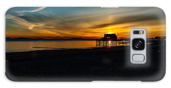 Wollaston Beach Sunrise 3 Galaxy Case