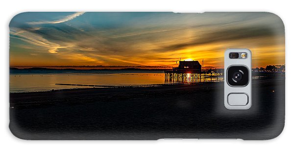 Wollaston Beach Sunrise 3 Galaxy Case