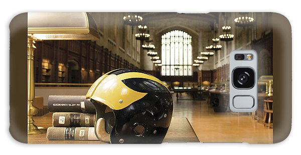 Wolverine Helmet In Law Library Galaxy Case